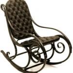 Kárpitos hinta szék
